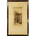 2 x Early 20th Century Etchings signed E Sharland