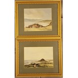 2 x Small Watercolour Paintings 20th Century. One signed