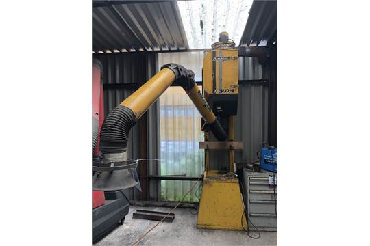 Plymo Vent MF2002 Fume Extraction System, s/n 51188