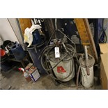 Lot of Lubricant Tanks & Guns