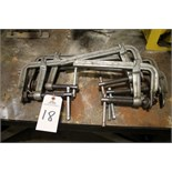 Lot of Bessy Clamps