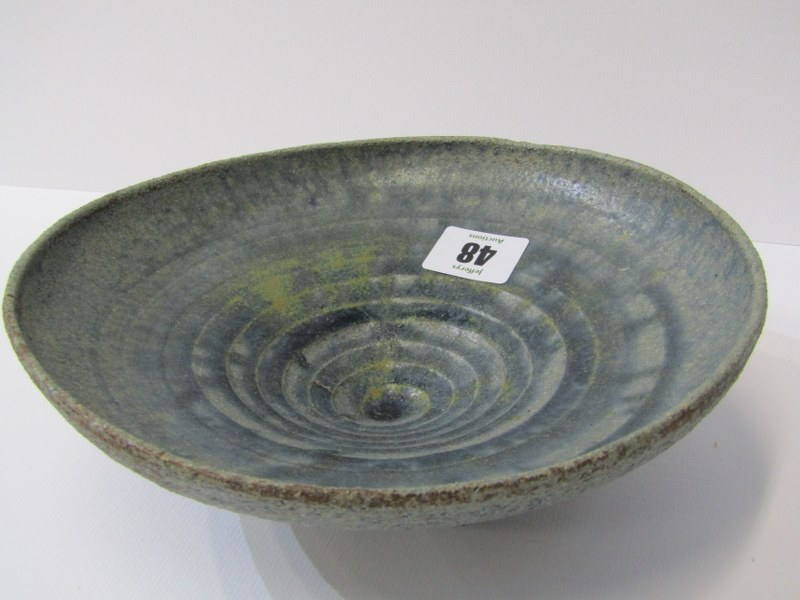 STUDIO POTTERY, Ian Godfrey collection of 4 bowls of various sizes and glazes - Image 2 of 6