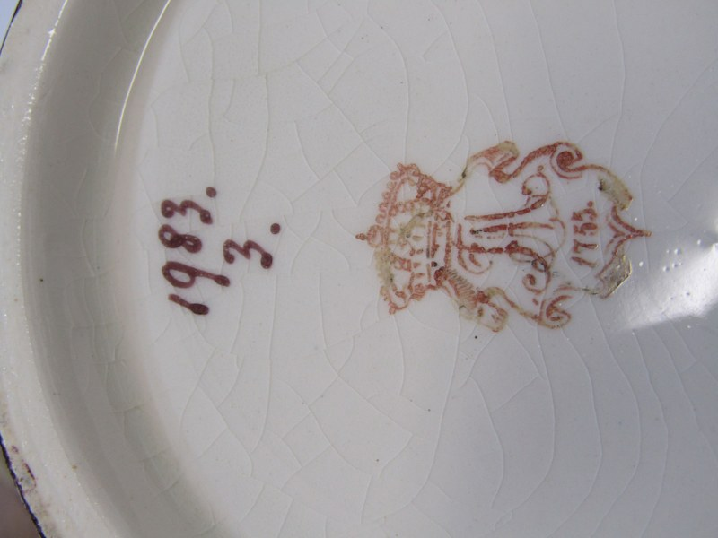 "ROYAL BONN, Bird & Butterfly decorated 16"" lidded vase, pattern no. 1983 - Image 2 of 2"