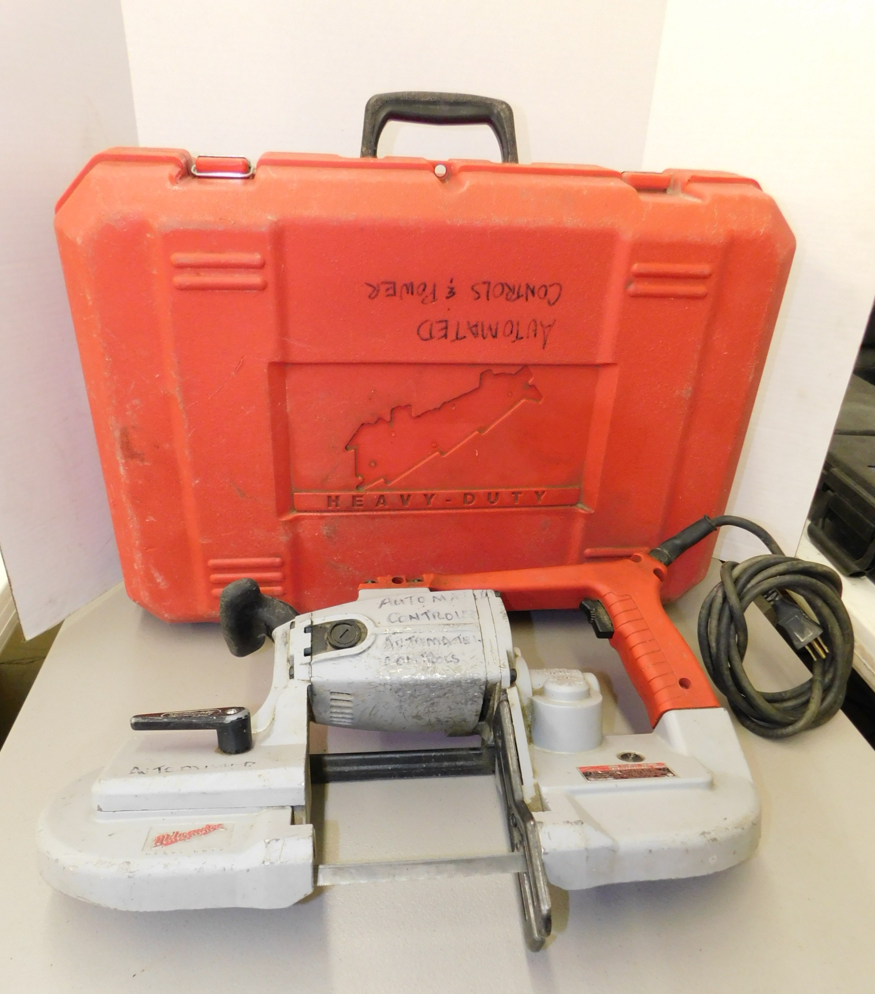 Lot 264 - Milwaukee Model 6230 Portable Bandsaw with Case