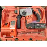 Milwaukee Model 2605-20 Cordless Hammer Drill with Case