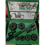 Greenlee 7238SB Knockout Punch Set