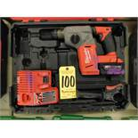 Milwaukee Model 2712-120 Cordless Hammer Drill with Case