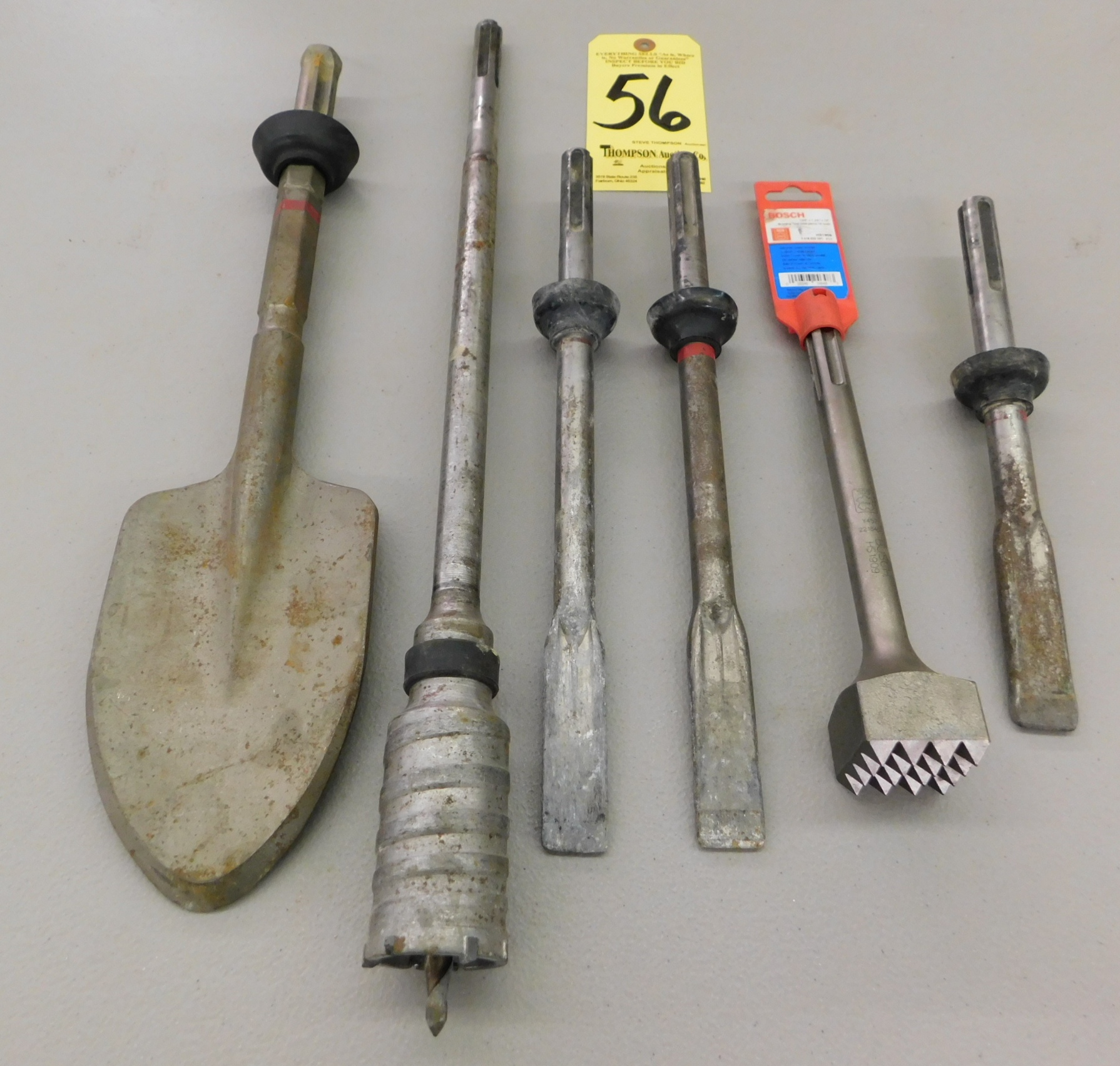 Rotary Hammer Chisels and Drills