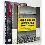 Fotografie - Drei internationale Fotobücher, jeweils vom Fotografen signiert. 1955-1996.
