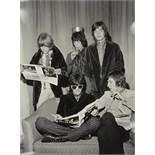 Aldo Durazzi. Rolling Stones. Fünf Fotografien. 1967 und 1988. 40 : 30 cm.
