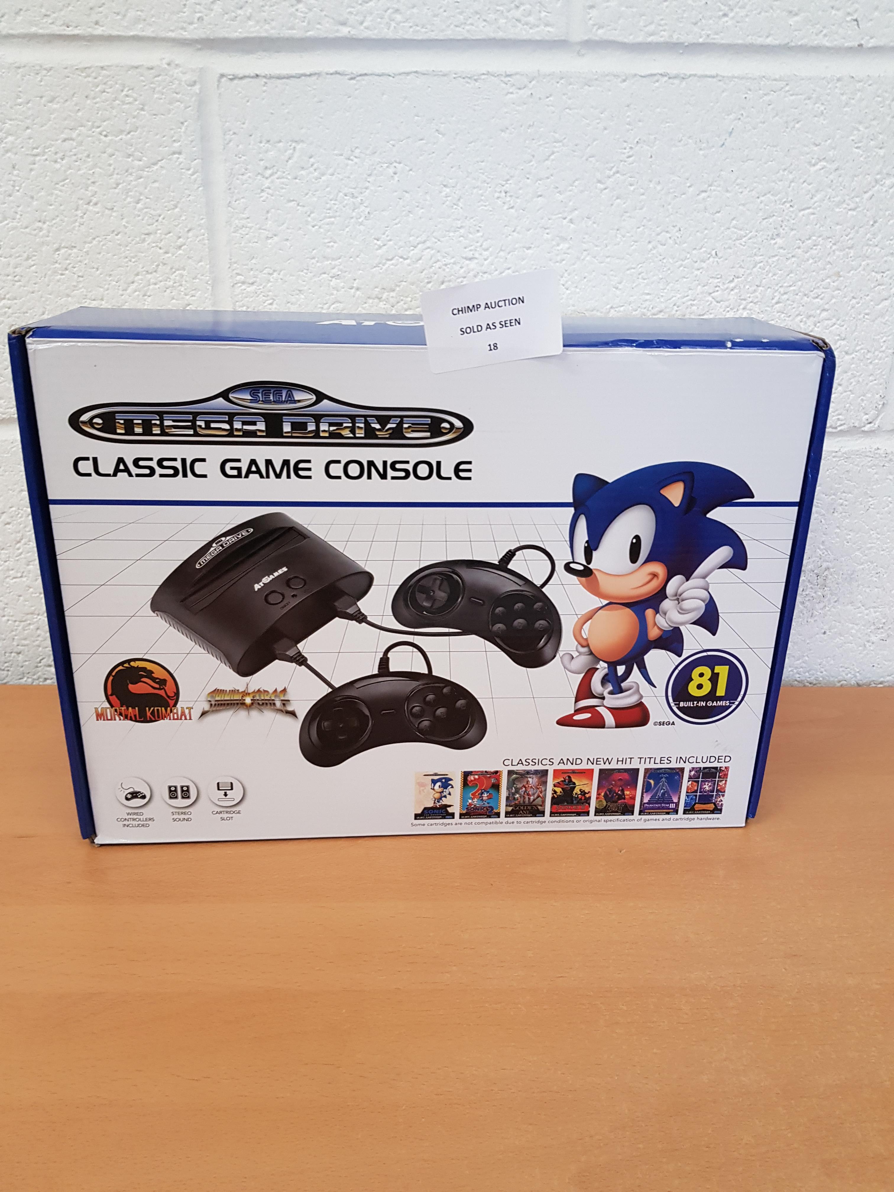 Sega Mega Drive + 81 games retro Console RRP £69.99.