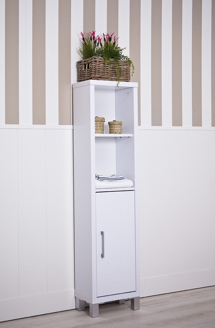 Intradisa 8903 Bathroom Shelving Unit 3 Interior Shelves RRP £129.99