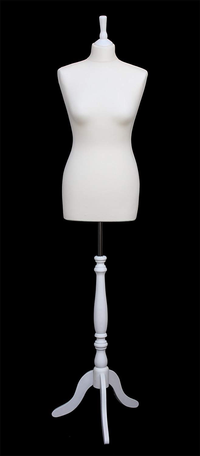 DELUXE Size 12 Female Dressmaking Dummy Tailors Bust Mannequin