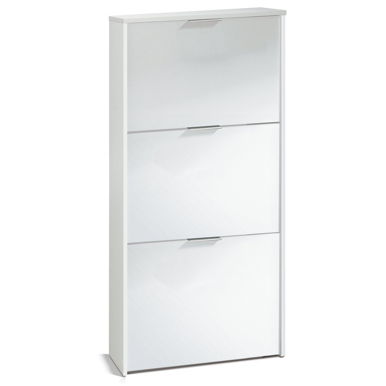 Habitdesign LC7877BO -3 doors 18 pairs Shoe Cabinet RRP £169.99