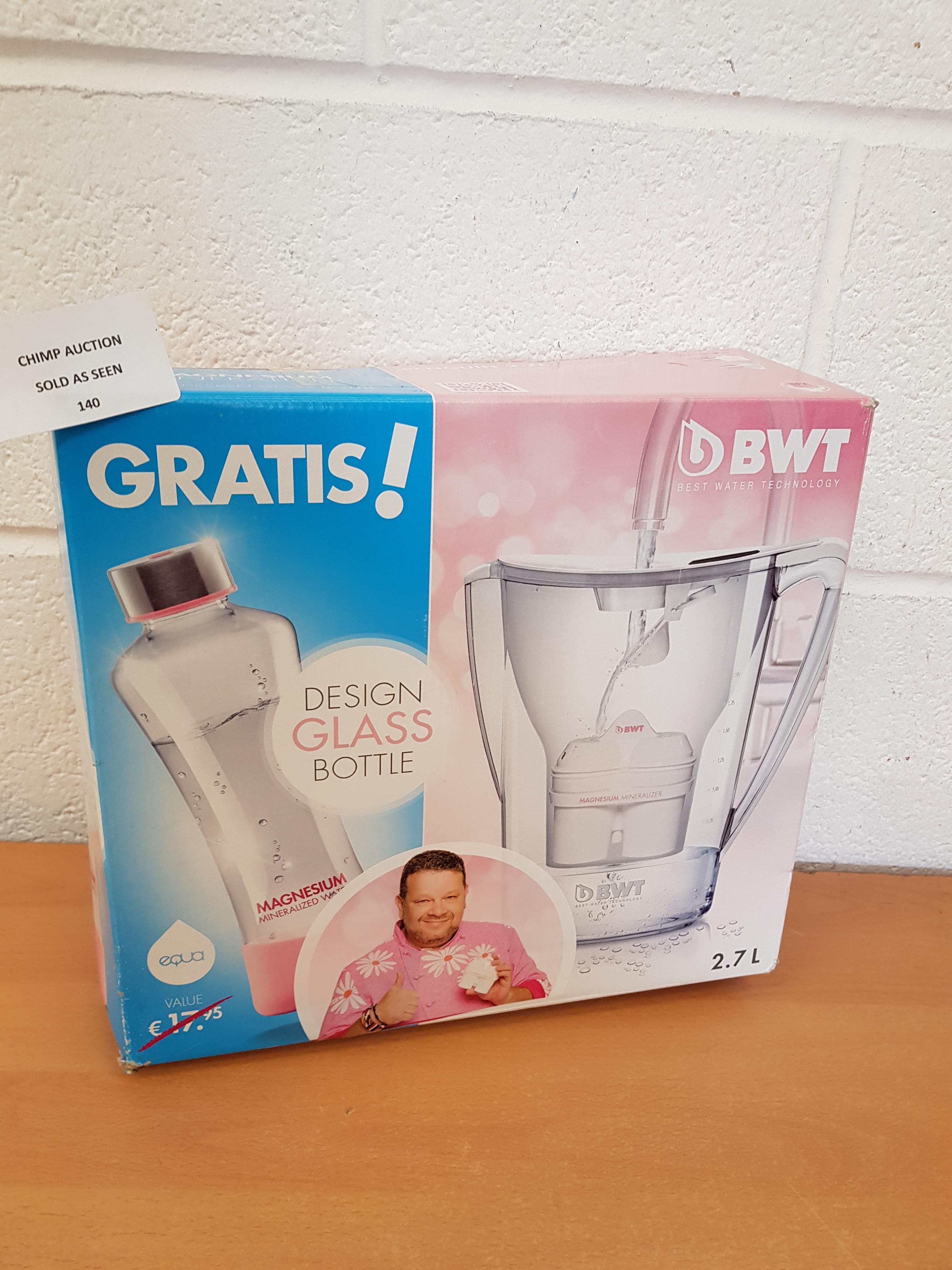 Lot 140 - BWT Drink filter set