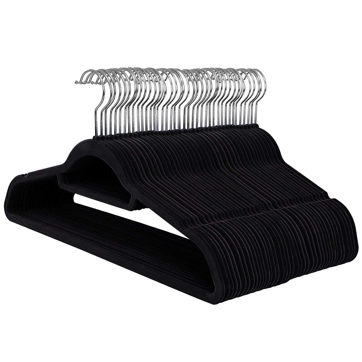 Lot 144 - SONGMICS Velvet Hangers, approx 50 Pack, Ultra Thin
