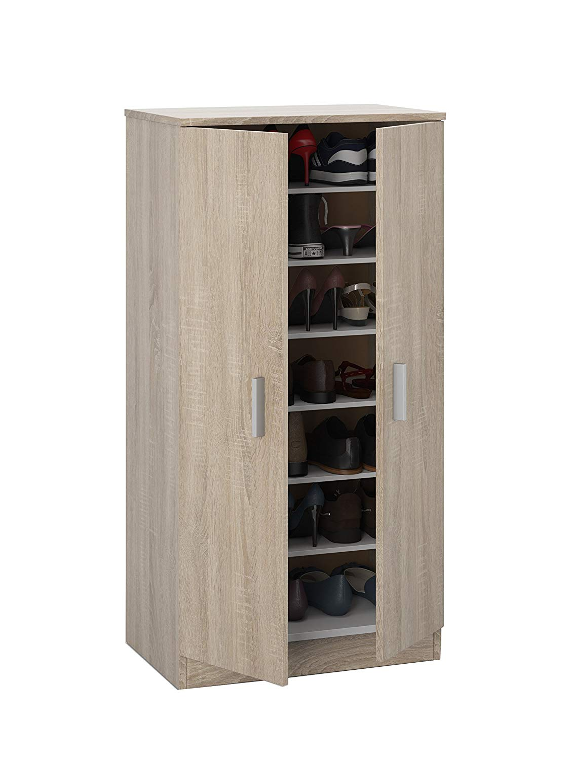 Habitdesign - Basic Zapatero Two Doors Shoe Cabinet RRP £79.99