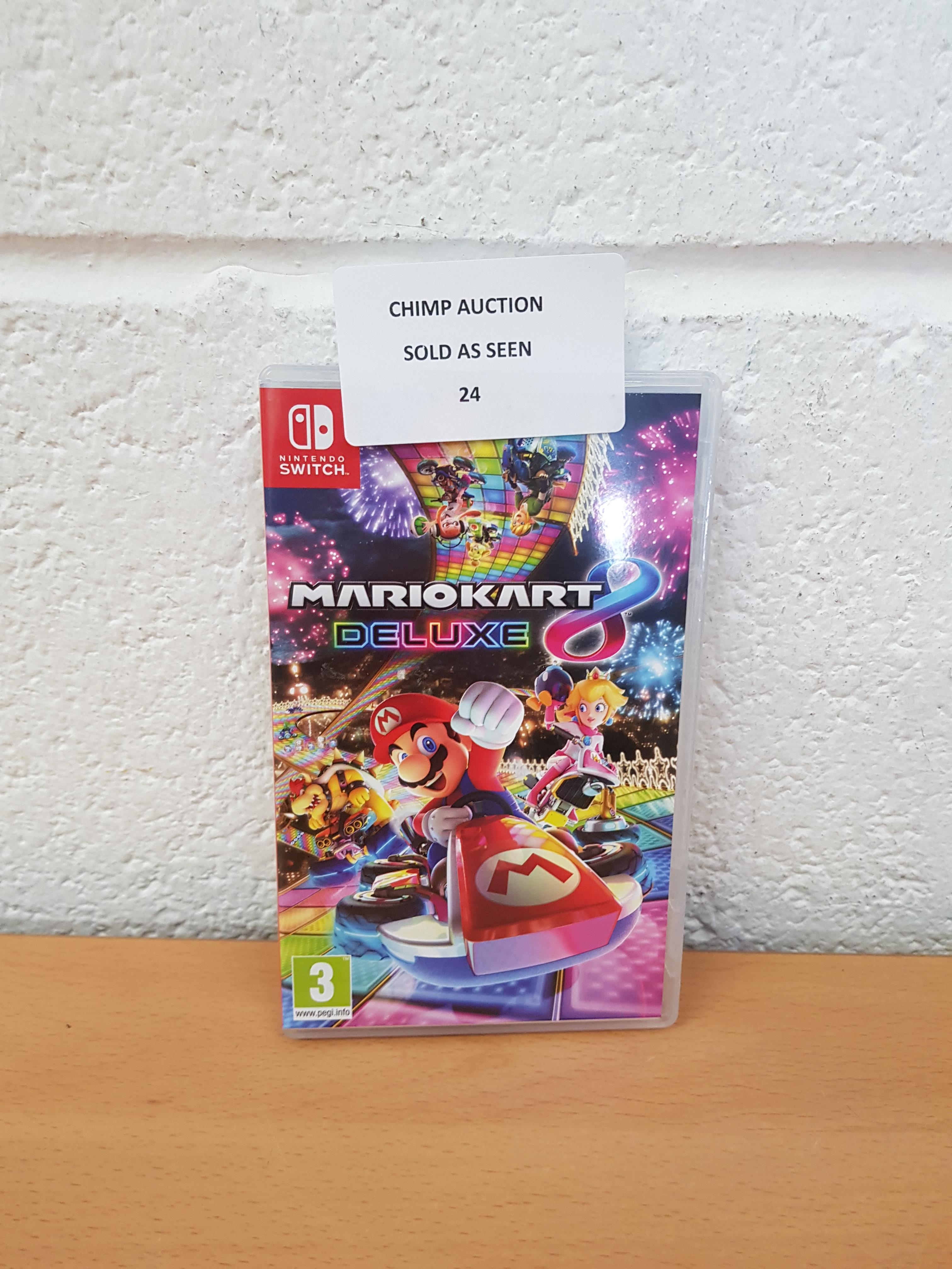 Lot 24 - Mario Kart 8 Deluxe Nintendo Switch RRP £54.99