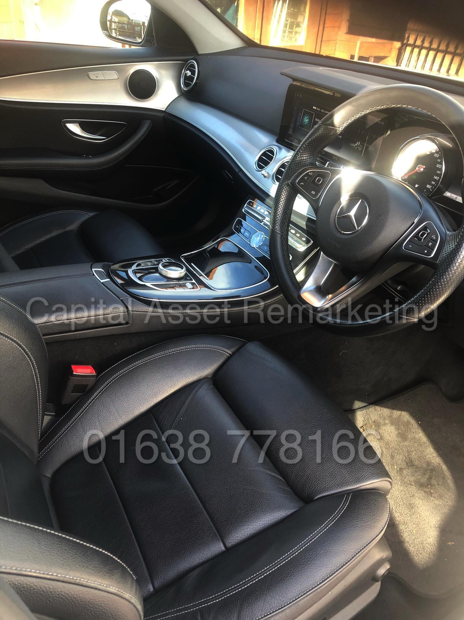 MERCEDES-BENZ E220D *SALOON* (2018 - NEW MODEL) '9-G TRONIC AUTO - LEATHER - SAT NAV' *HUGE SPEC* - Image 17 of 20