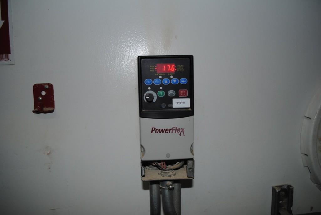 Lot 19 - Allen Bradley Powerflex 400 VFD Controllers