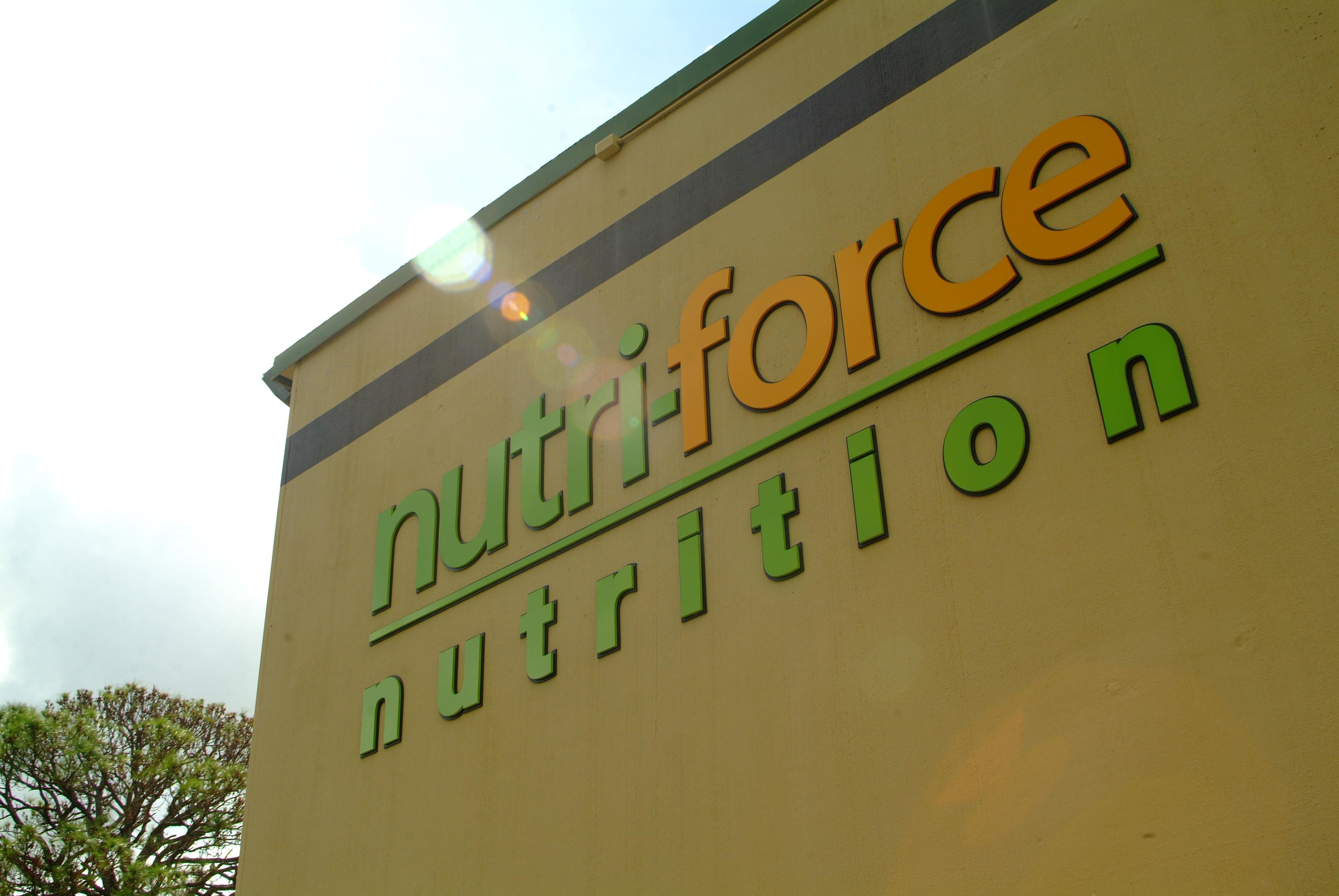 Lot 00 - Nutri-Force Nutrition