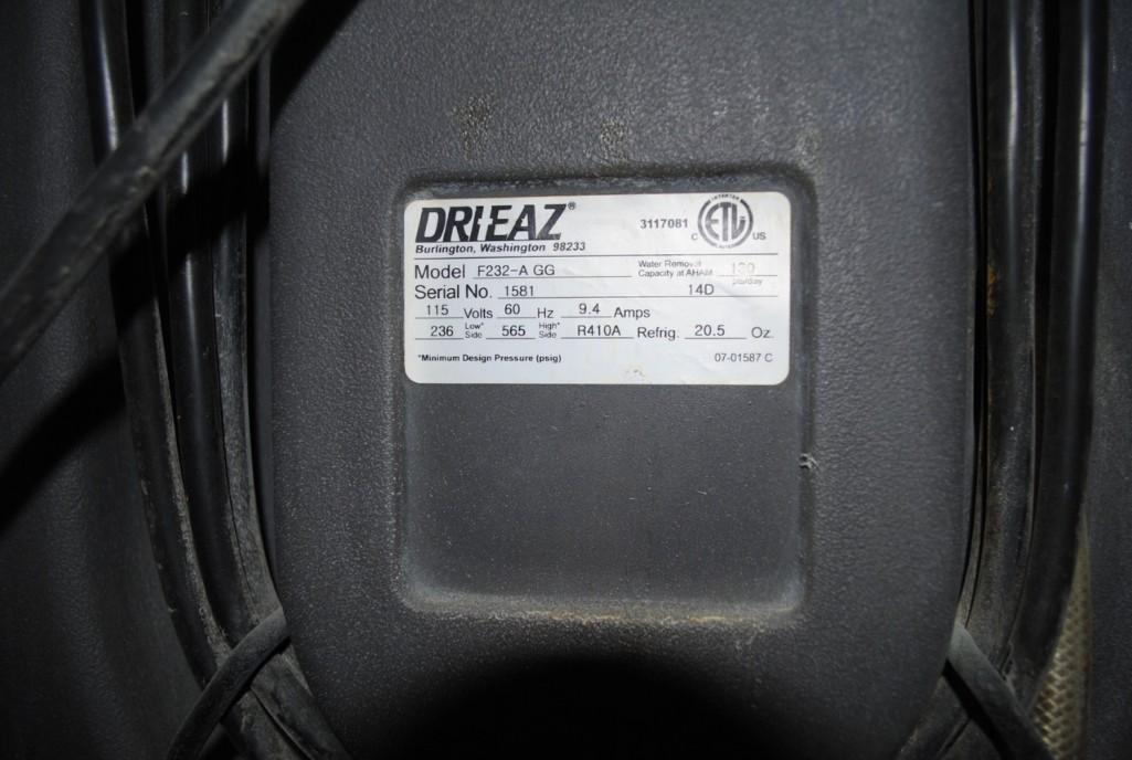Lot 36 - Drizair Dehumidifier