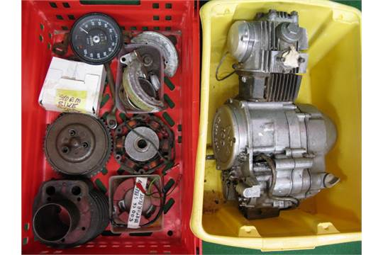 100cc Speedway motorcycle engine built by Alan Jones Products