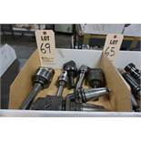 PRECISION BORE HEADS AND CAT 40 TOOL HOLDERS