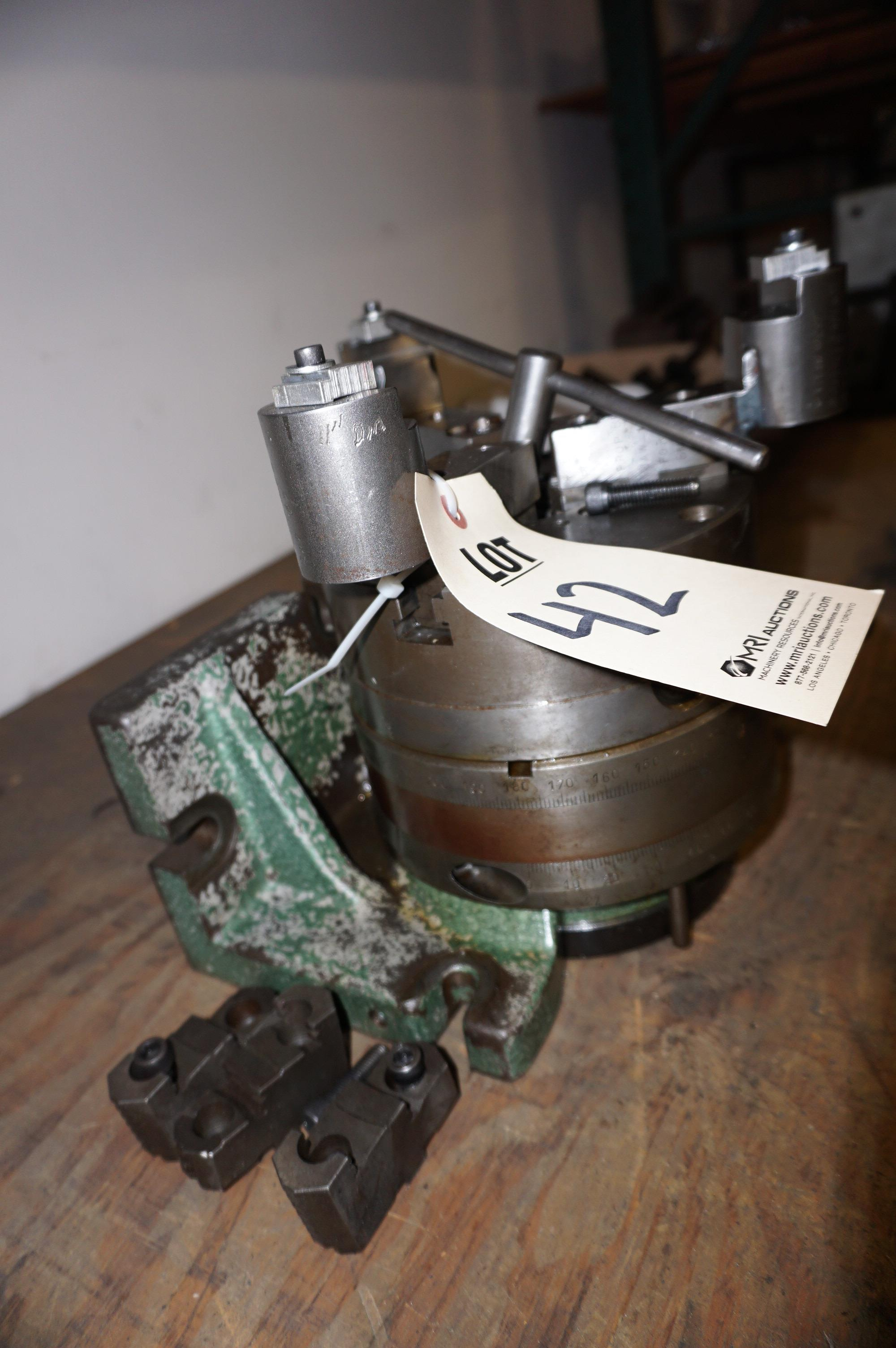 ROTARY TABLE WITH CHUCK - Image 2 of 2