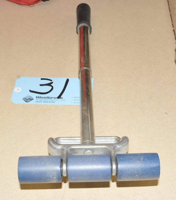 Manual Material Roller