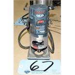 Bosch Model ER20-PVS; Router