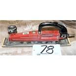 "Ingersoll-Rand Model 315; 2 3/4"" In-Line Pneumatic Sander"