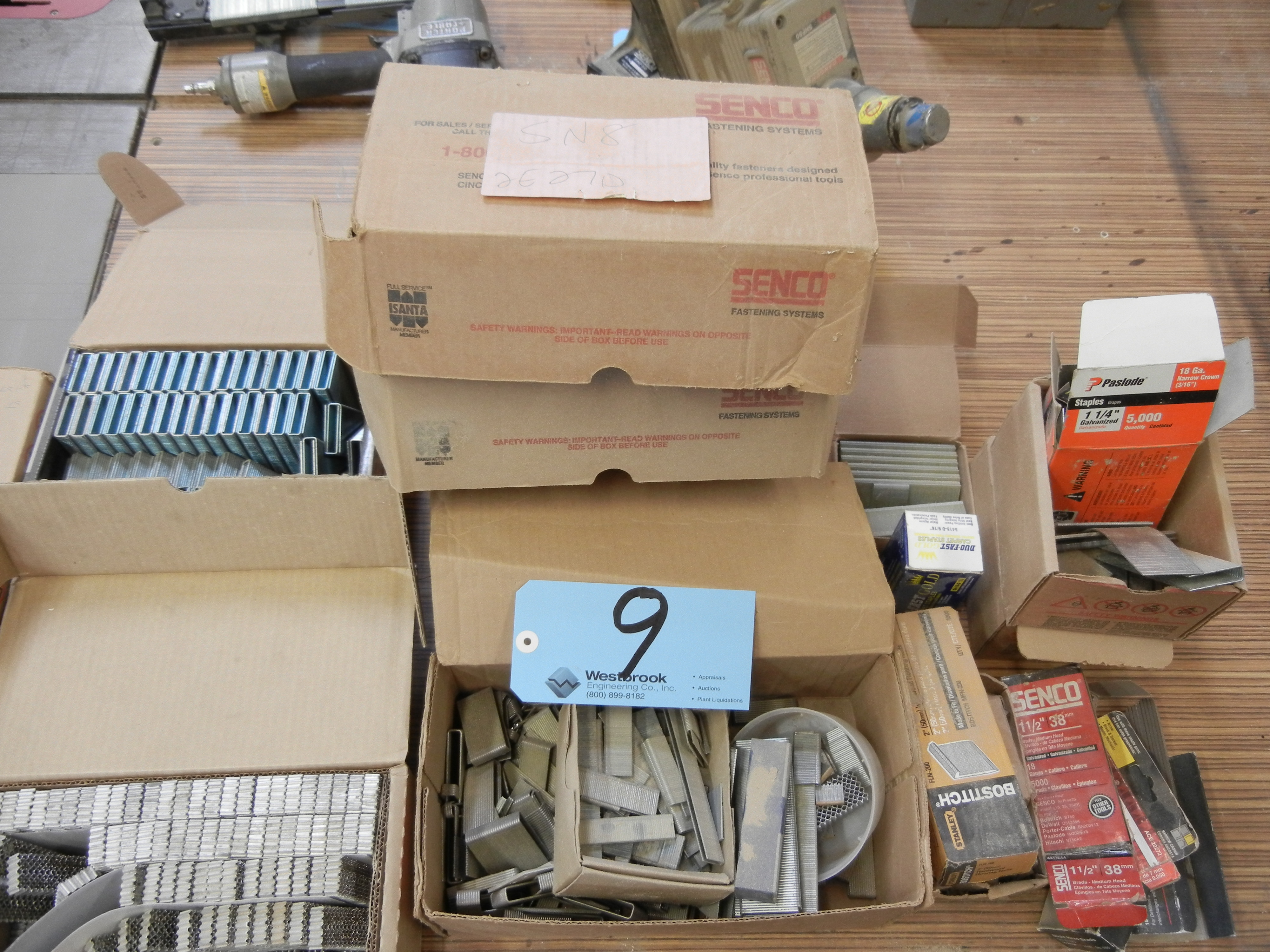 Lot-Assorted Staples and Crown Fasteners - Image 2 of 4