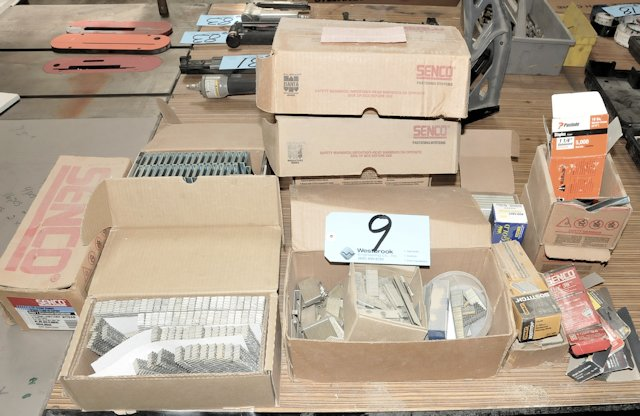 Lot-Assorted Staples and Crown Fasteners