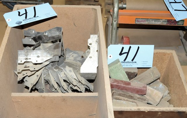 Lot-Clay and Joist Hangers in (2) Boxes