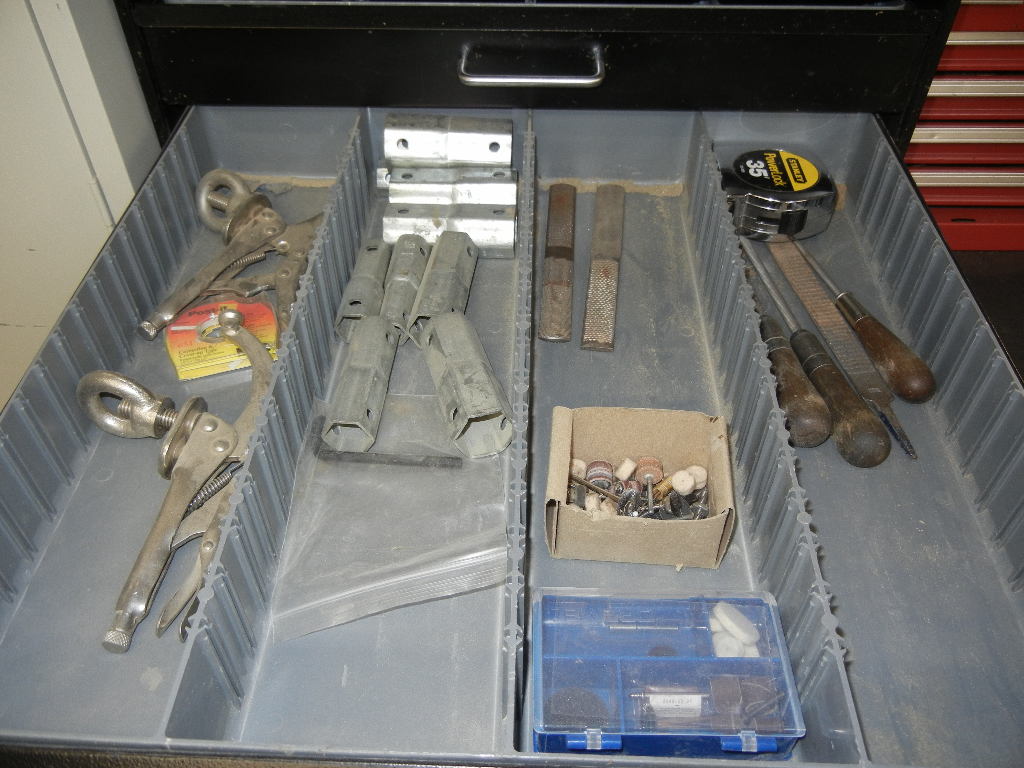 Lot-(1) 7-Drawer Tool Cabinet with Contents - Image 4 of 6