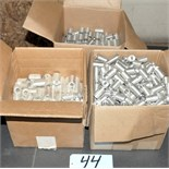 Lot-Aluminum Parts in (3) Boxes