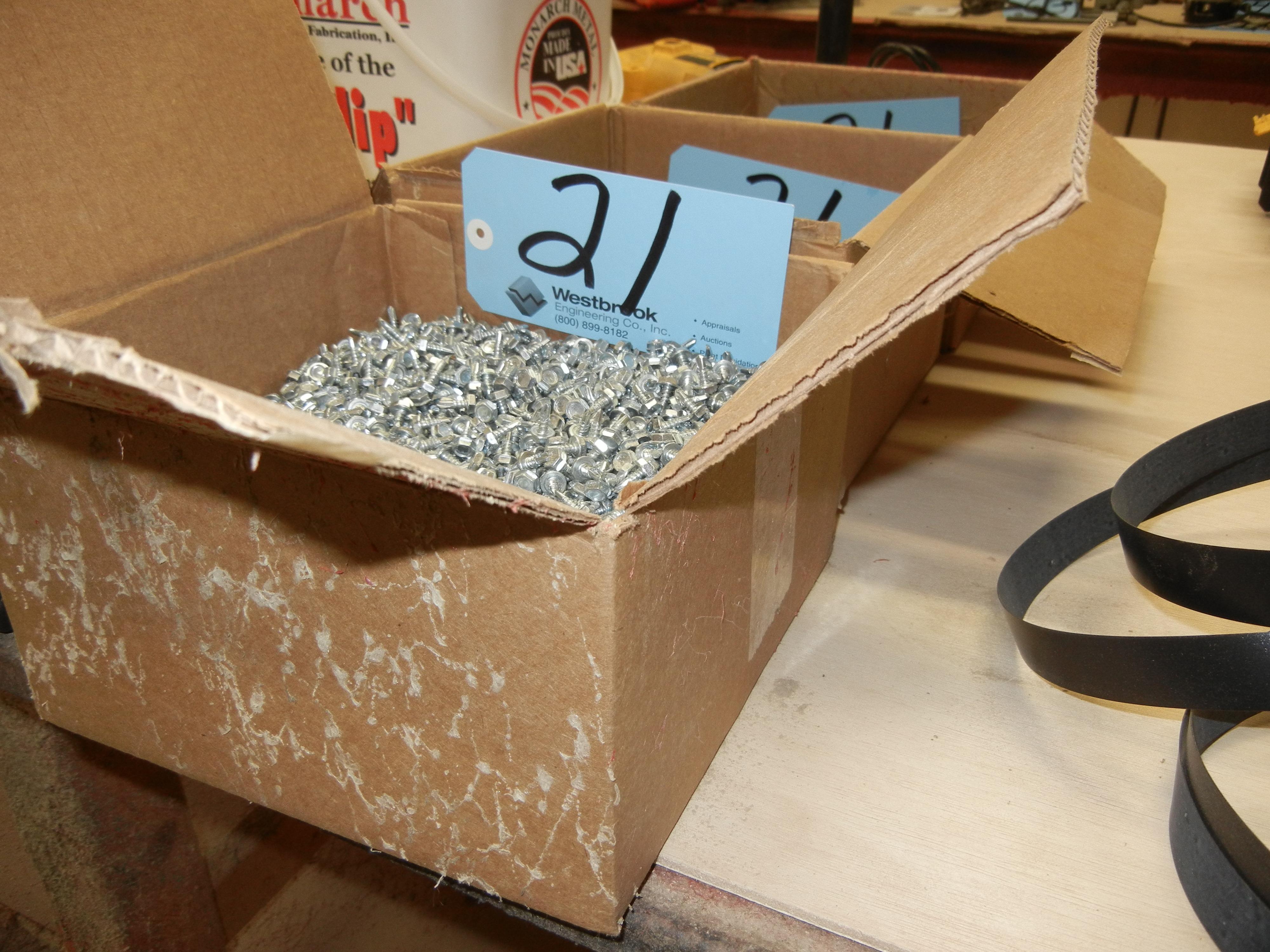 Lot-Self Tap Sheet Metal Screws in (3) Boxes - Image 2 of 5
