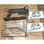 Lot-(2) Senco Pneumatic Finish Staple Guns