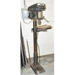 Target Machinery Model TT-18FP; 20mm x 16-Speed Floor Standing Drill Press