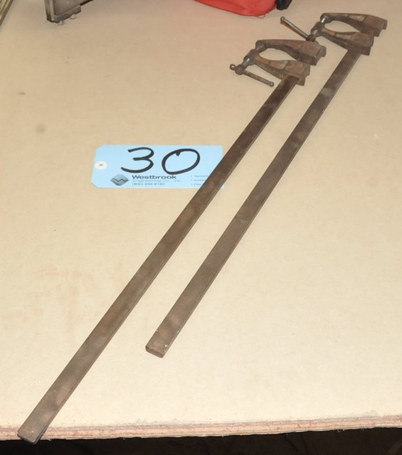 "Lot-(2) 24"" Bar Clamps"