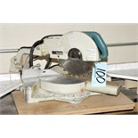 """Makita Model LS1011; 10"""" Sliding Compound Mitre Saw with In/Out Feed Tables"""