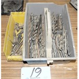 Lot-Assorted Drill Bits with Tray