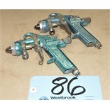 Lot-(2) Mach 1 Paint Guns