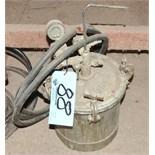 Paint Pressure Pot with Hose