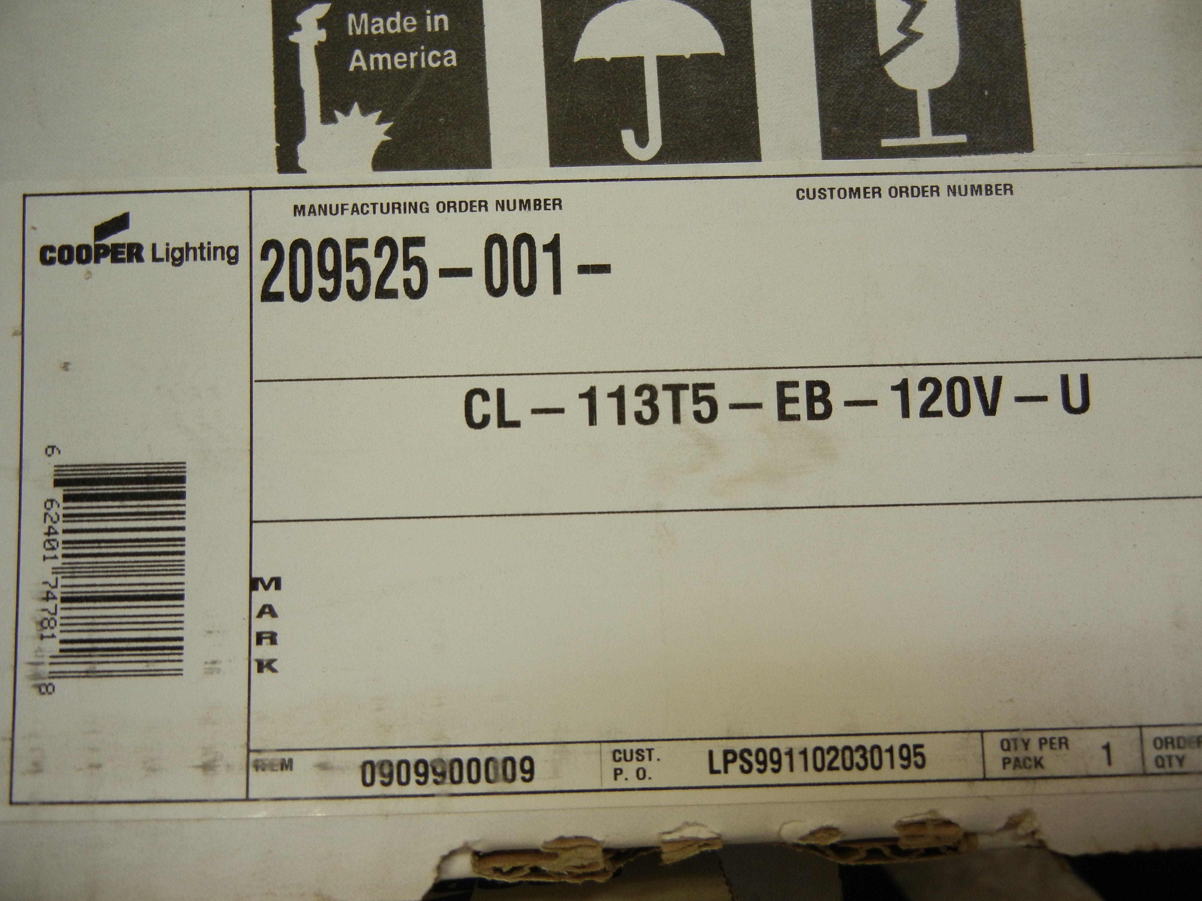 Lot-(23) Assorted Cooper Fluorescent Light Fixtures - Image 3 of 3