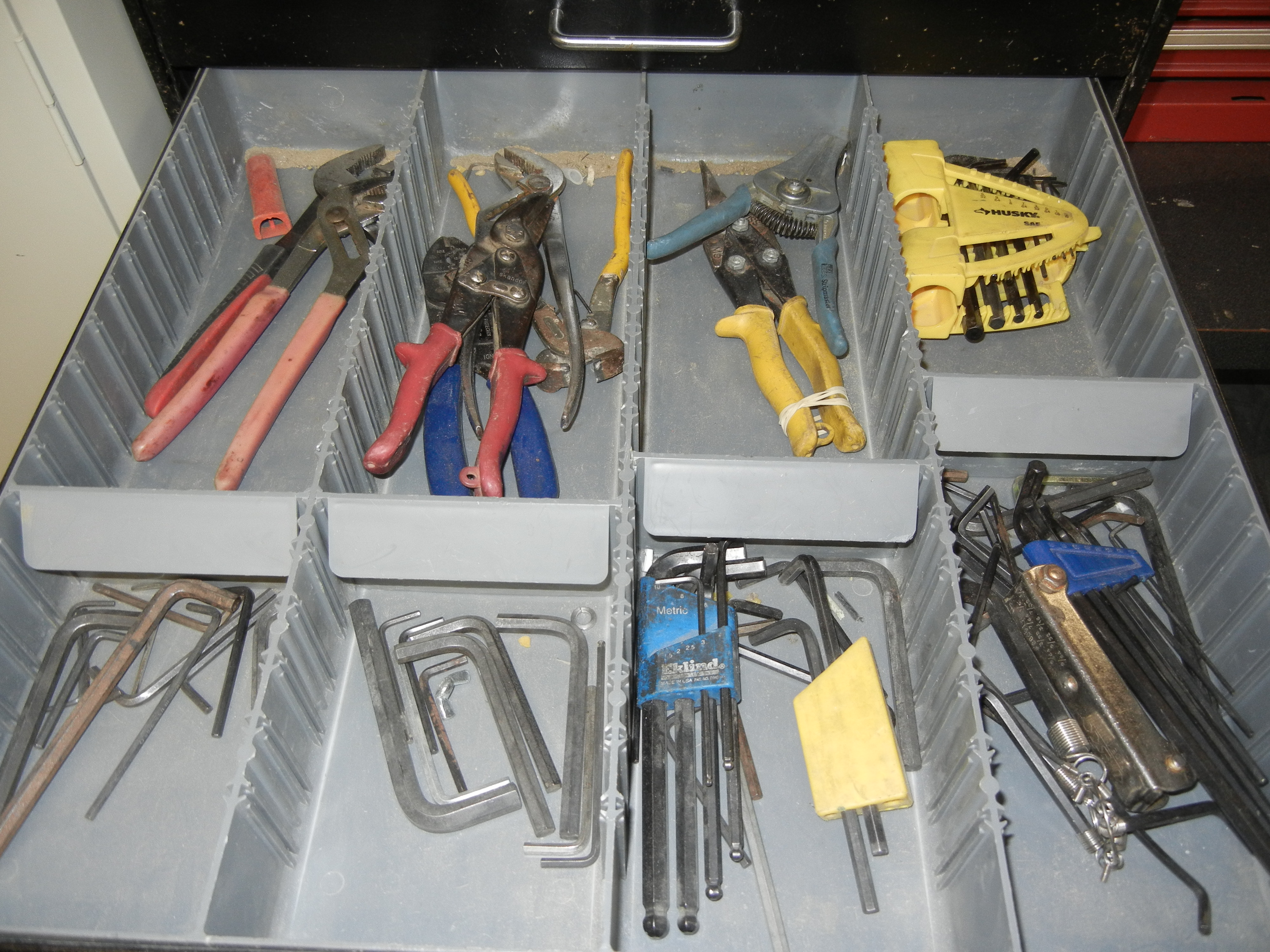 Lot-(1) 7-Drawer Tool Cabinet with Contents - Image 5 of 6