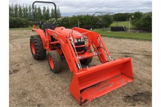 2016 Kubota L2501 tractor, w/LA 525 FEL
