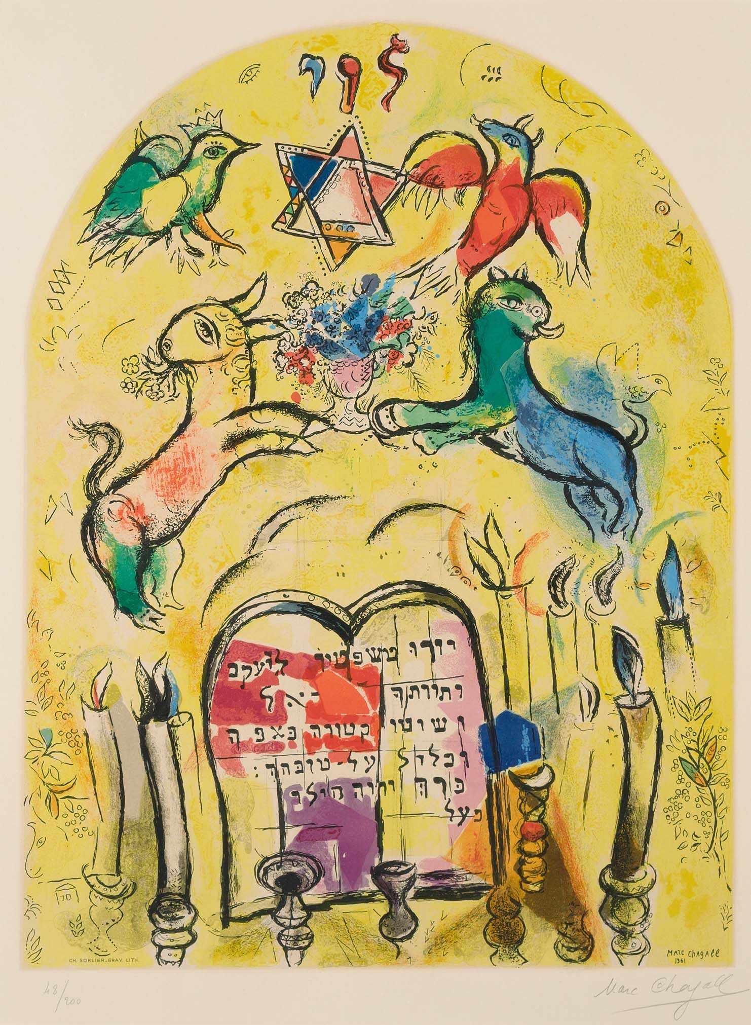 Chagall marc witebsk 1887 1985 saint paul de vence la for Chagall st paul de vence