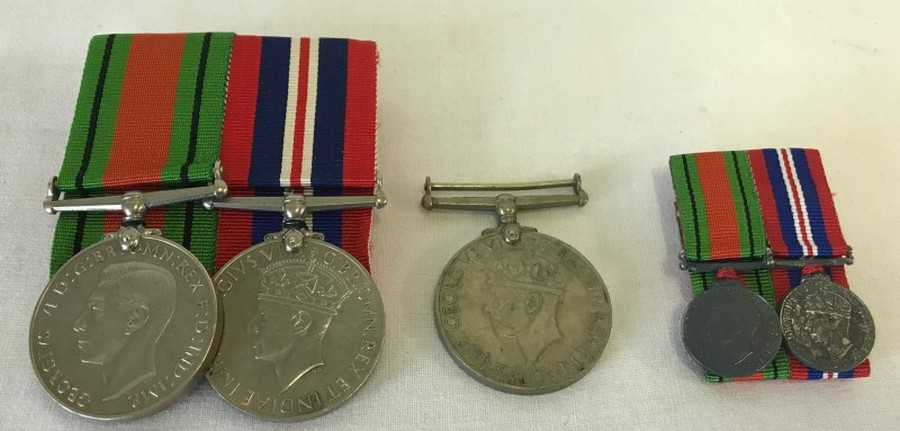 Lot 1059 - A collection of WW2 medals.